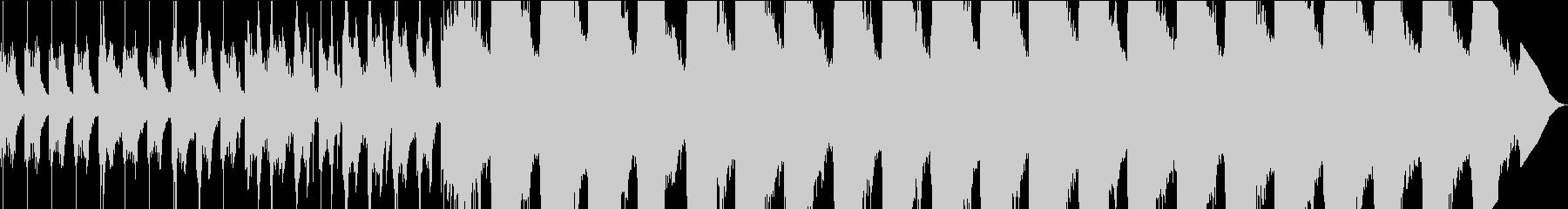 催眠音風景 #002の未再生の波形