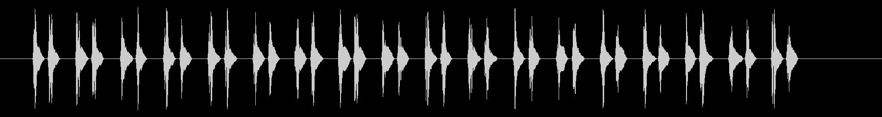 ハートビート3とても速いの未再生の波形