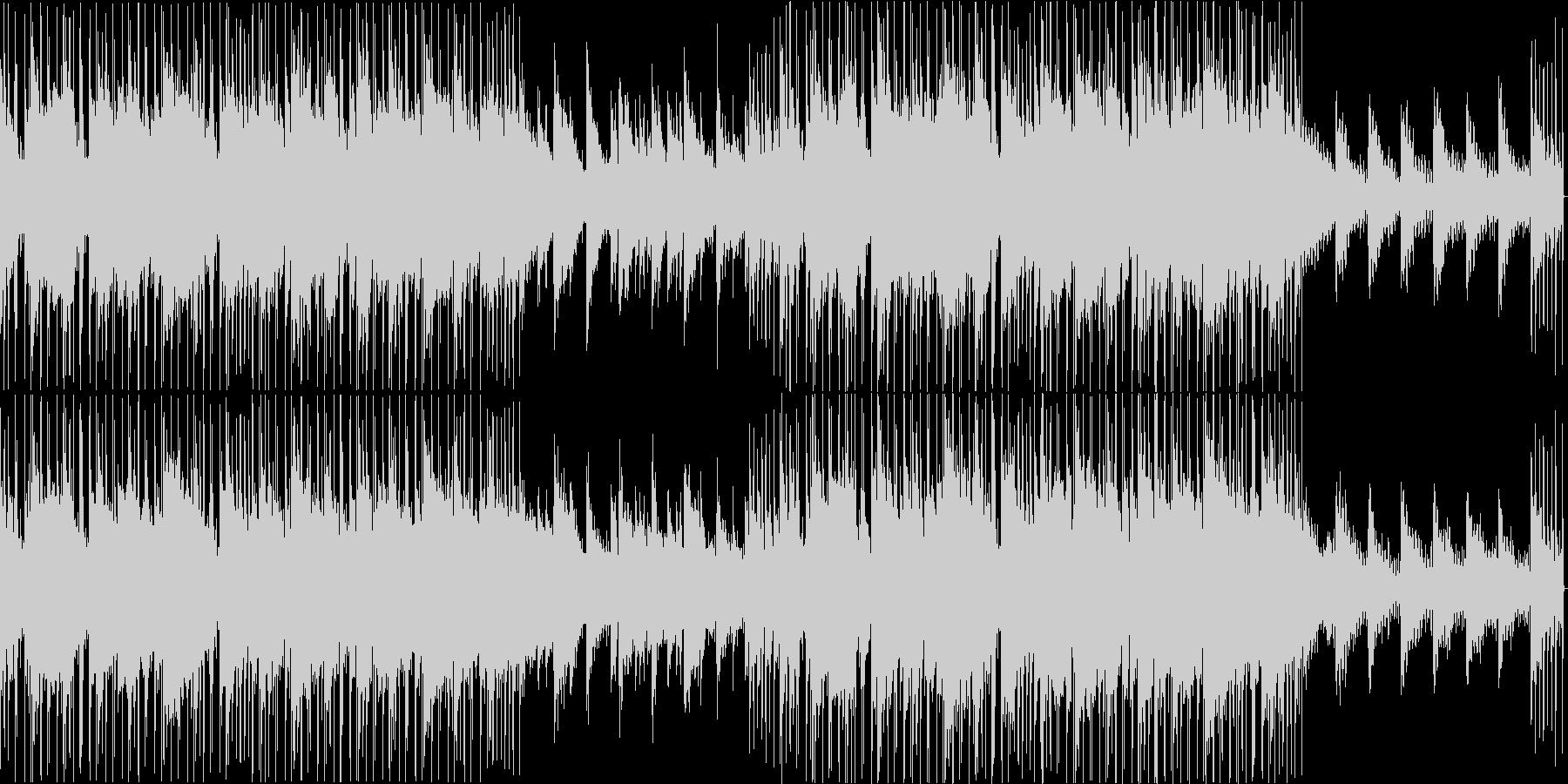 大人っぽいジャジーなヒップホップループの未再生の波形