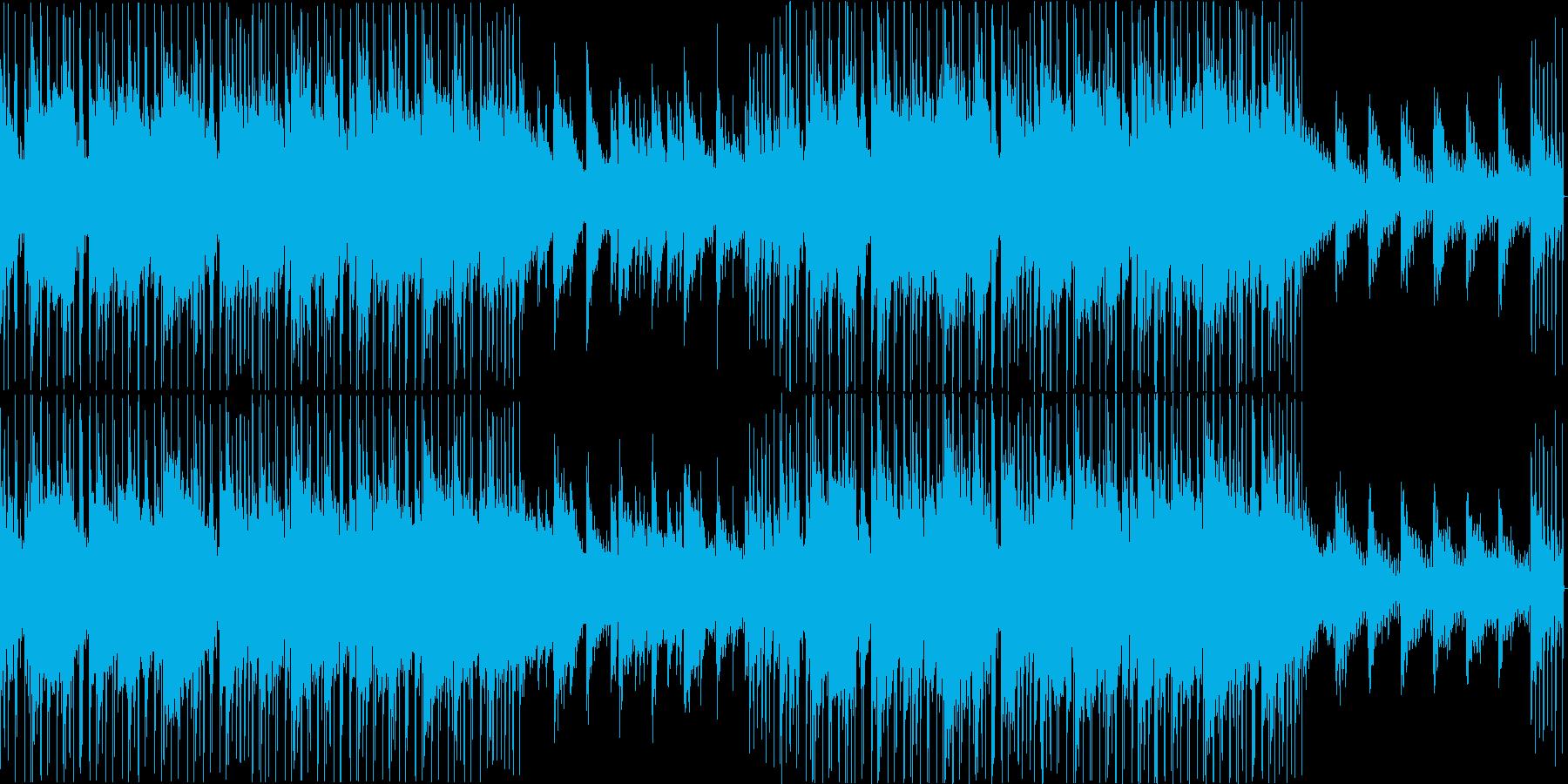 大人っぽいジャジーなヒップホップループの再生済みの波形