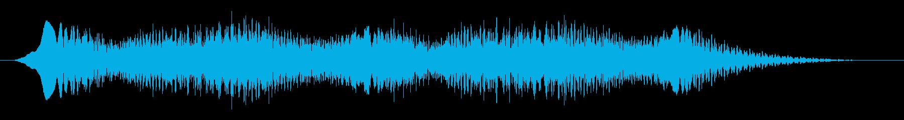 素材 揺れるドローン09の再生済みの波形