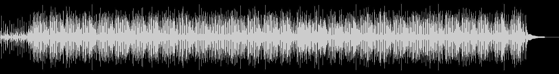 カフェBGM・パリをイメージしたジャズの未再生の波形