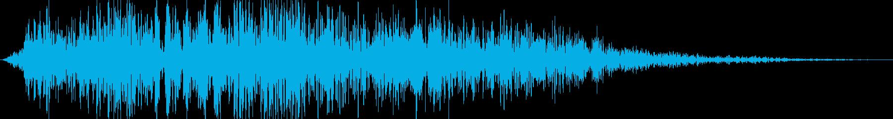 電子スペースコンピューターボタンま...の再生済みの波形