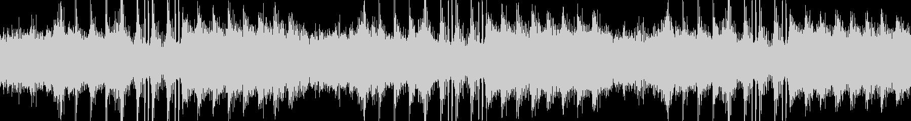 アンビエントなエレクトロニカの未再生の波形