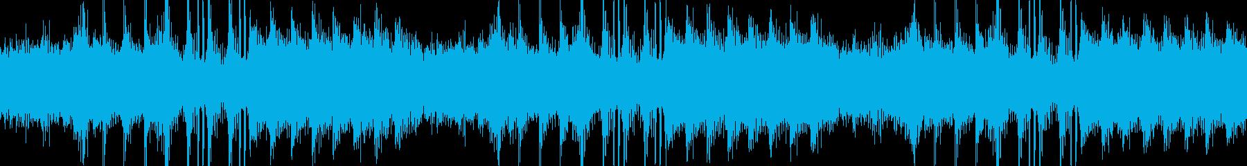 アンビエントなエレクトロニカの再生済みの波形