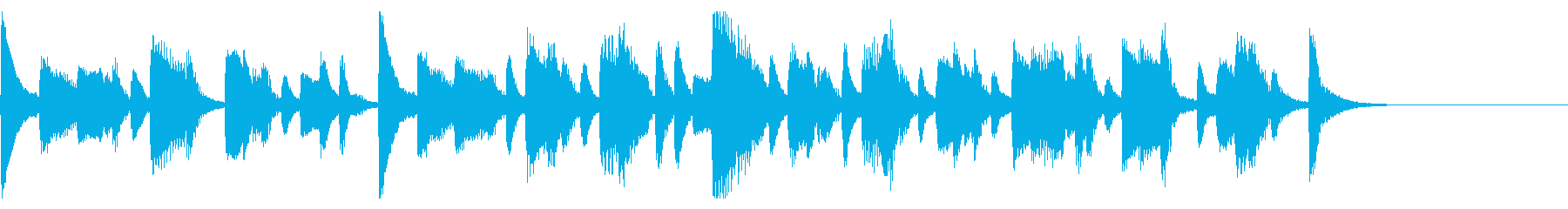 日本のお祭り和風ジングル27-ピアノソロの再生済みの波形