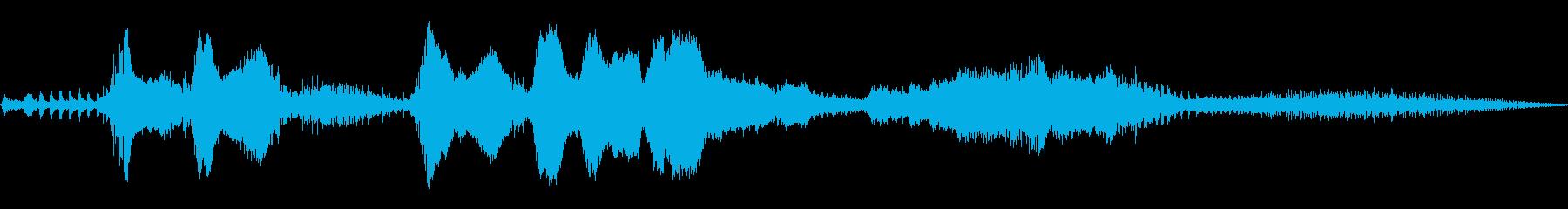 1993年三菱エクリプスGSX E...の再生済みの波形