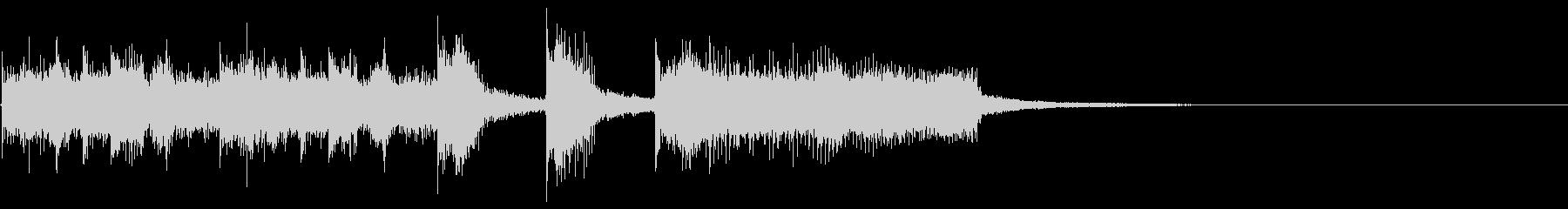 ジングル・アイキャッチ_Aの未再生の波形
