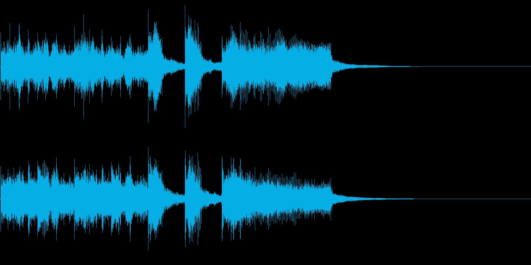 ジングル・アイキャッチ_Aの再生済みの波形