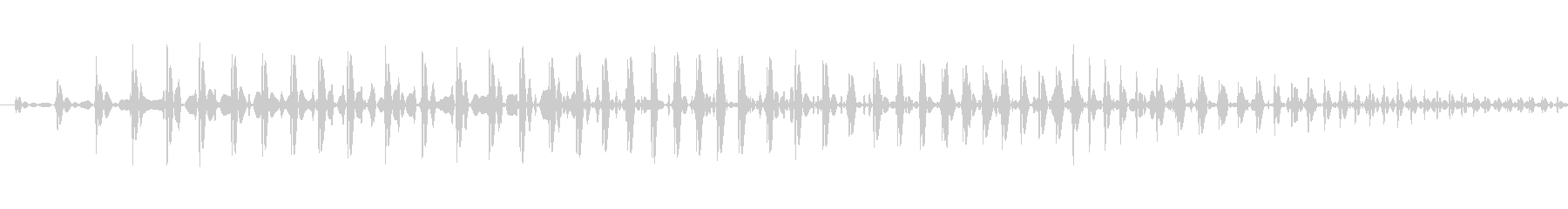 汎用的なシステム音の未再生の波形