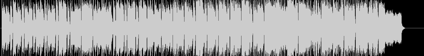 ダンジョン探索をするような怪しいBGMの未再生の波形