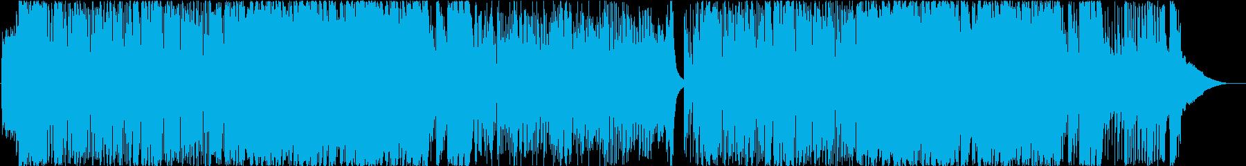 派手なビッグバンドジャズの再生済みの波形