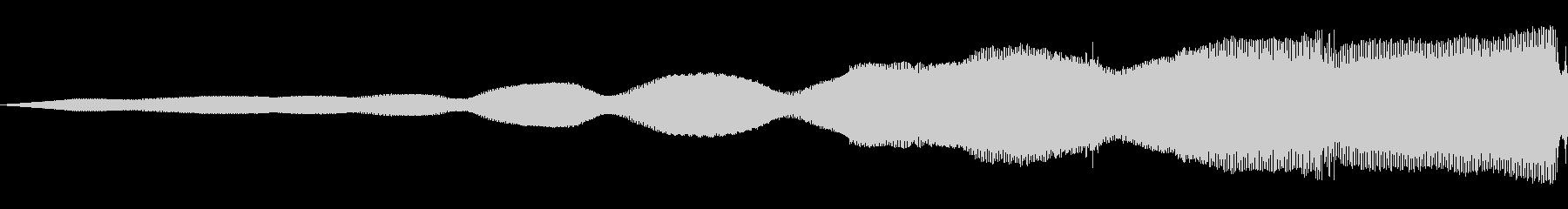 信号グリッチ1の未再生の波形