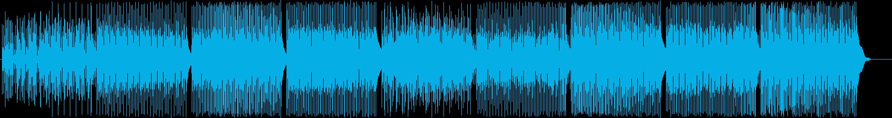前向きで楽しいウクレレポップ-動画CM♫の再生済みの波形
