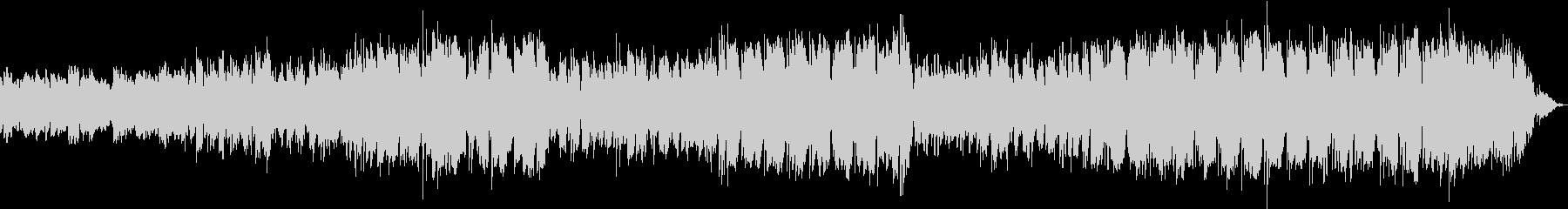 エレクトロな音色がリモートワークに最適の未再生の波形