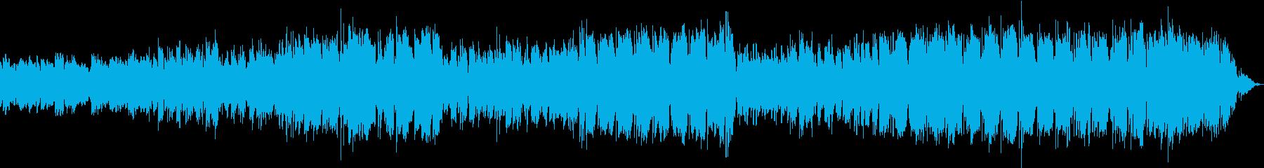 エレクトロな音色がリモートワークに最適の再生済みの波形