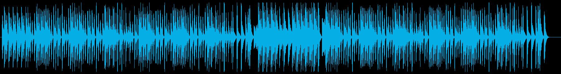 可愛いマレット曲の再生済みの波形