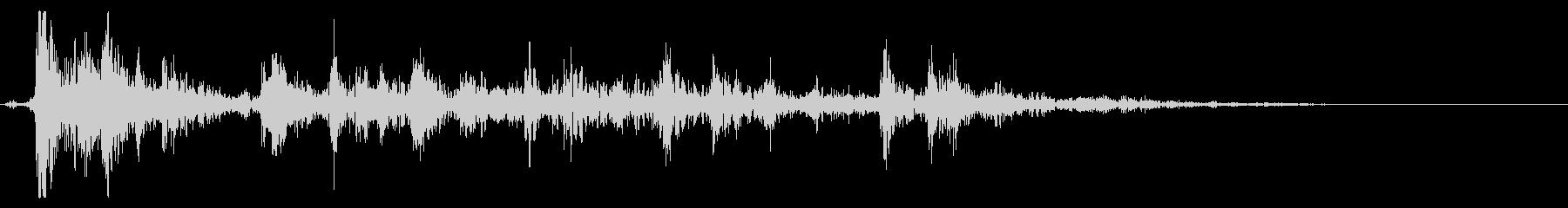 雷(ゴロゴロ)_3の未再生の波形