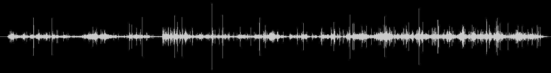 葉 ラッスルハード01の未再生の波形