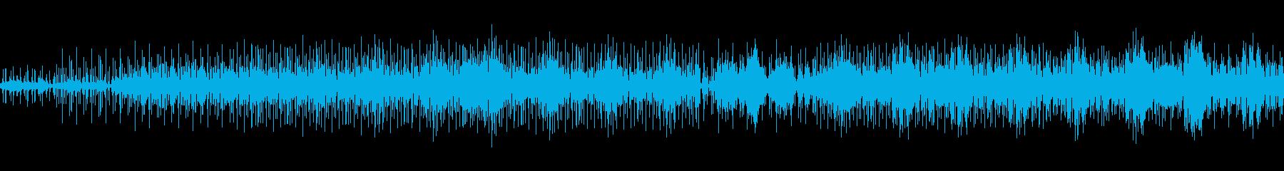discoぽいビートの曲の再生済みの波形