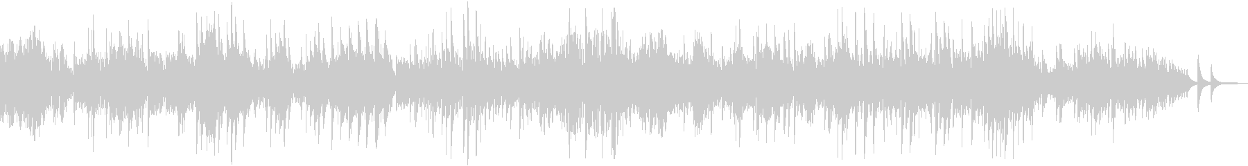 ピアノソナタ第14番「月光」第1楽章の未再生の波形