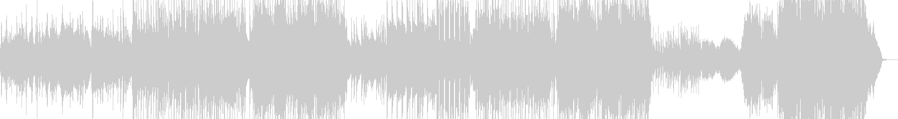 サックス・J-Pop風バラード L+の未再生の波形