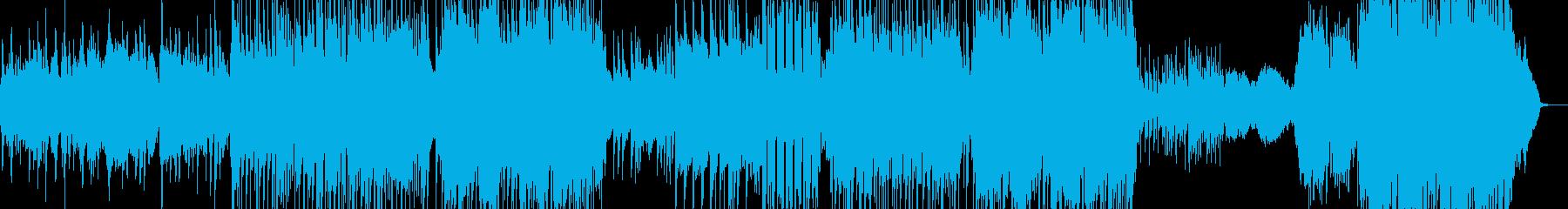 サックス・J-Pop風バラード L+の再生済みの波形