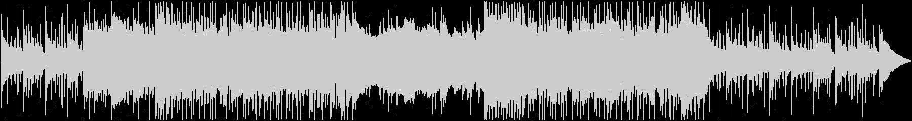洋楽っぽさのあるクールなロックBGMの未再生の波形