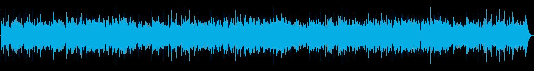 脈打つエレクトリックピアノと温かい...の再生済みの波形