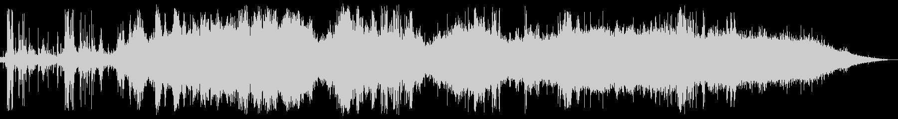 ゴロゴロドーン・ザザー(夕立の音)の未再生の波形