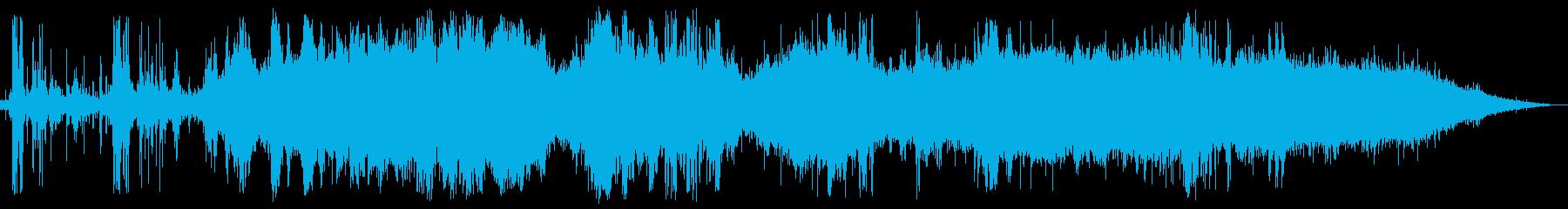 ゴロゴロドーン・ザザー(夕立の音)の再生済みの波形