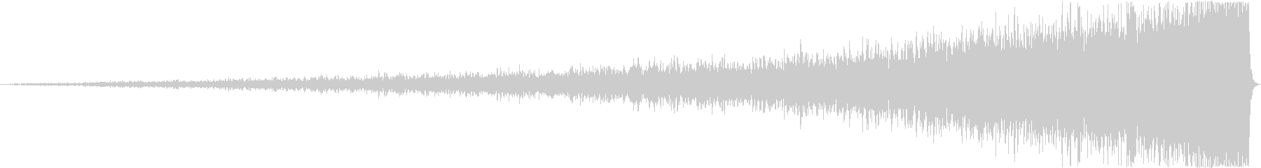 【インパクト】壮大なライザー音の未再生の波形