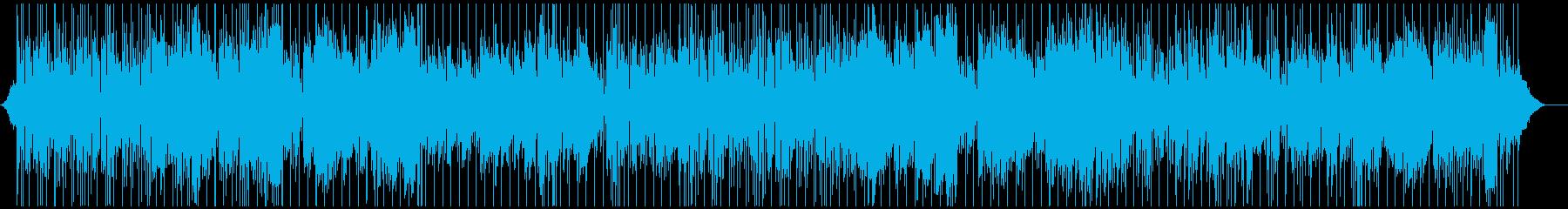 生演奏・南の島のリラックスリゾートレゲエの再生済みの波形