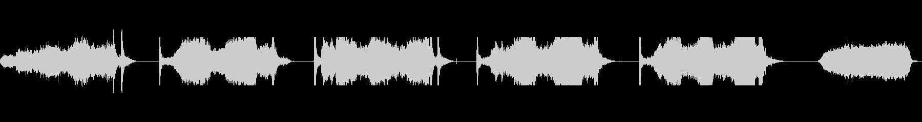 マシンウインチモーターストレスレベルの未再生の波形