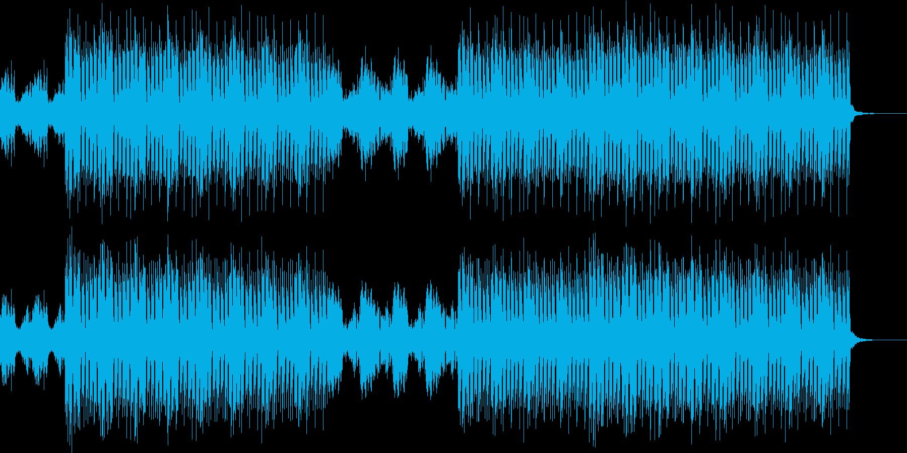 おしゃれ・エスニック・EDM・透明感6の再生済みの波形