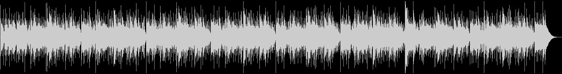 ハンドパンとマリンバによるヒーリングの未再生の波形