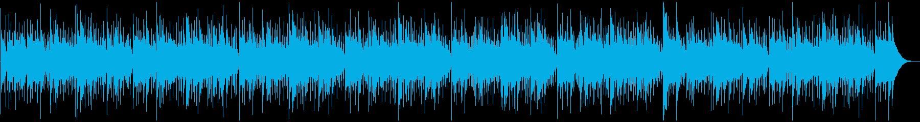 ハンドパンとマリンバによるヒーリングの再生済みの波形
