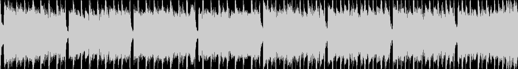軽快なインディーロックの未再生の波形
