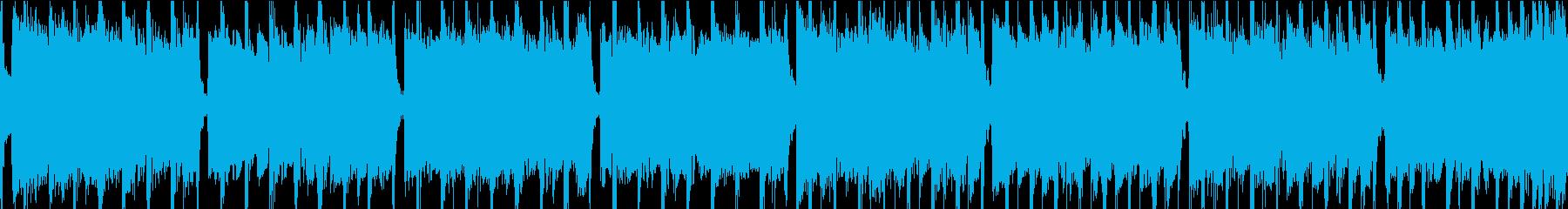 軽快なインディーロックの再生済みの波形