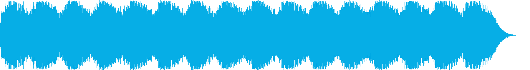 SFアニメに出て来そうな警報音のイメー…の再生済みの波形