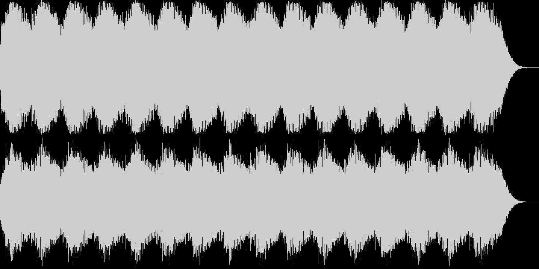 SFアニメに出て来そうな警報音のイメー…の未再生の波形
