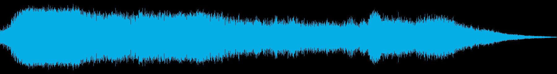 群衆応援短いインテリアジムの再生済みの波形