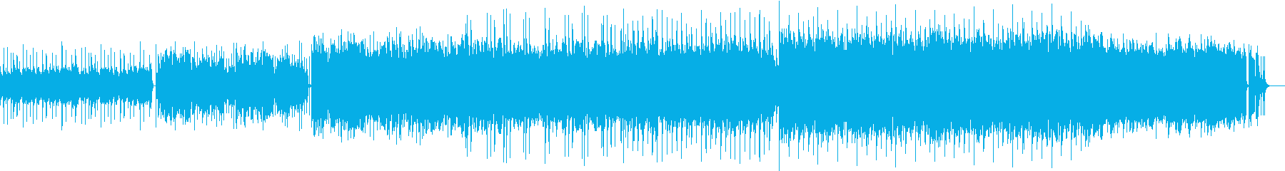 Fashionable and dramatic romance pop's reproduced waveform