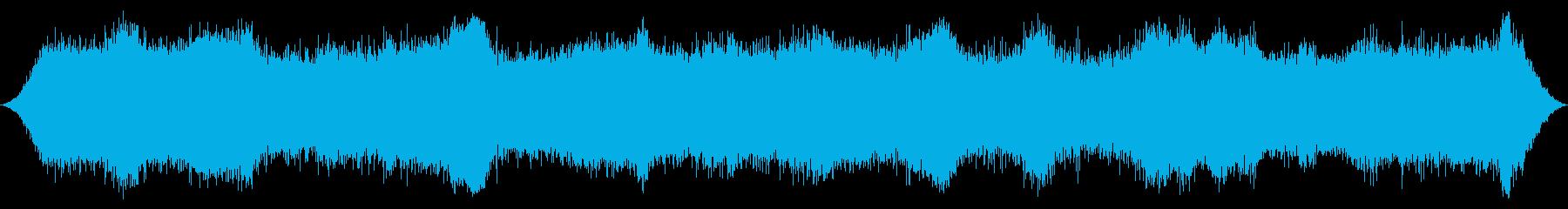 オーシャン:波が重く、強力なサーフ...の再生済みの波形