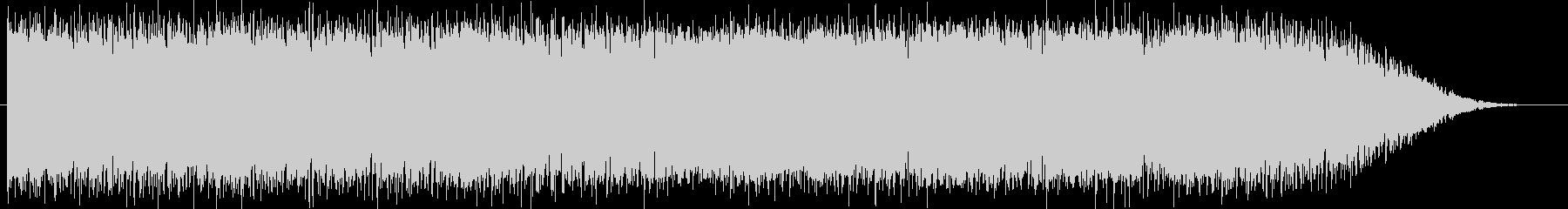 怪しげなシンセがメインのドラムンベースの未再生の波形