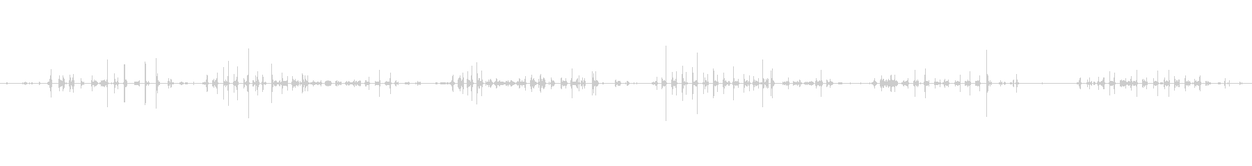 紙 トランプシャッフル02の未再生の波形