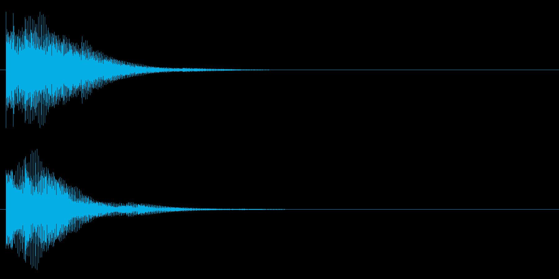 ポロンー(琴的)の再生済みの波形