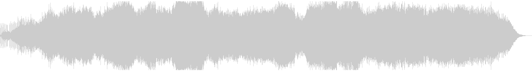 生演奏ピアノが独特なアンビエントBGMの未再生の波形