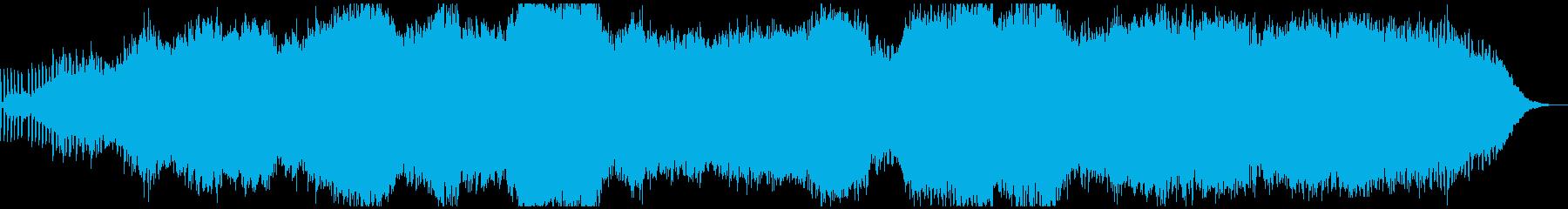 生演奏ピアノが独特なアンビエントBGMの再生済みの波形