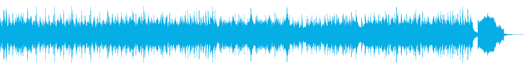 ストリングスピアノの穏やかで壮大なBGMの再生済みの波形